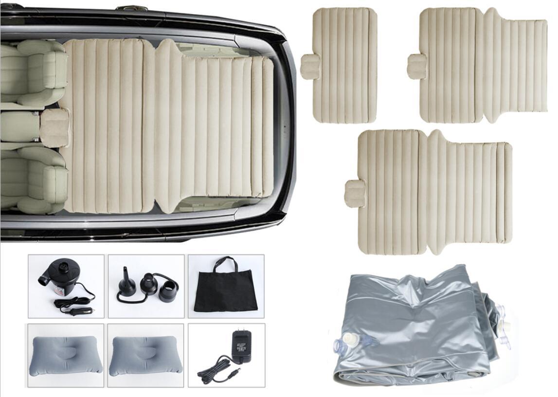 3in1 luftmatratze auto suv luftbett mit pumpe aufblasbare multifunktion luftbett ebay. Black Bedroom Furniture Sets. Home Design Ideas