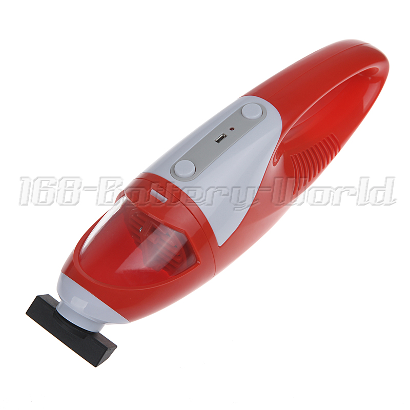 portable cordless handheld mini vacuum cleaner battery powered rechargeable ebay. Black Bedroom Furniture Sets. Home Design Ideas