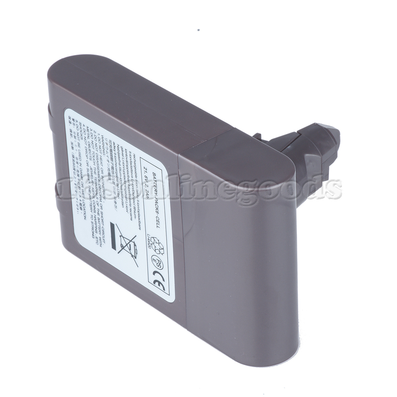 New 2200mah Vacuum Cleaner Battery For Dyson Dc58 Dc59 Dc61 Dc62 Animal 21 6v