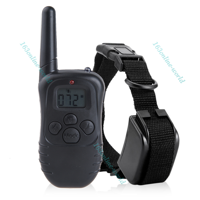 Rechargeable Anti Bark Dog Pet Training Collar Remote Control No Barking Trainer